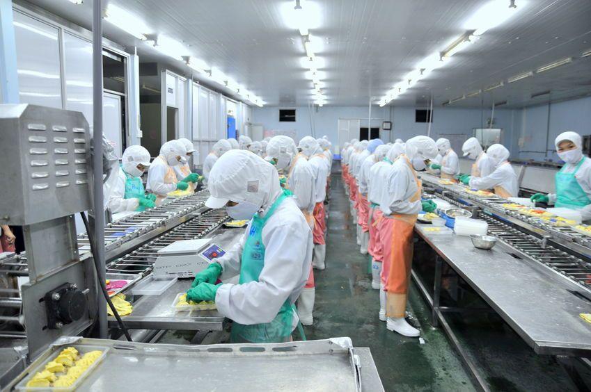 seguridad industrial sector alimentación